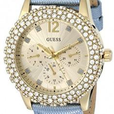 GUESS Women's U0336L6 Shimmering Ice Blue | 100% original, import SUA, 10 zile lucratoare af22508 - Ceas dama Guess, Analog