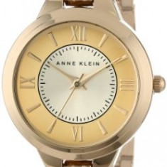 Anne Klein Women's AK 1440CHGB Everyday | 100% original, import SUA, 10 zile lucratoare af22508 - Ceas dama Anne Klein, Casual, Analog