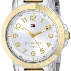 Tommy Hilfiger Women's 1781398 Two-Tone Watch | 100% original, import SUA, 10 zile lucratoare af22508 - Ceas dama Tommy Hilfiger, Casual, Quartz, Otel, Analog