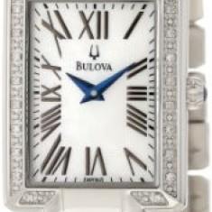 Bulova Women's 96R160 Classic Rectangle Bracelet   100% original, import SUA, 10 zile lucratoare af22508 - Ceas dama Bulova, Analog