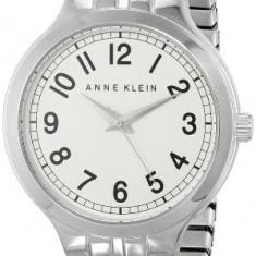 Anne Klein Women's AK 1687SVSV Silver-Tone | 100% original, import SUA, 10 zile lucratoare af22508 - Ceas dama Anne Klein, Elegant, Quartz, Analog