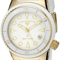 Swiss Legend Women's 11840D-YG-02-WHT Neptune White   100% original, import SUA, 10 zile lucratoare af22508 - Ceas dama Swiss Legend, Casual, Quartz, Analog