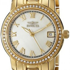 Invicta Women's 18079 Specialty Gold-Tone Stainless | 100% original, import SUA, 10 zile lucratoare af22508 - Ceas dama Invicta, Casual, Quartz, Analog