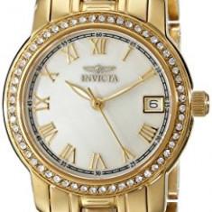 Invicta Women's 18079 Specialty Gold-Tone Stainless | 100% original, import SUA, 10 zile lucratoare af22508 - Ceas dama Invicta, Analog