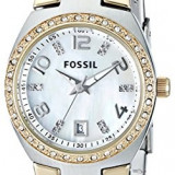 Fossil Women's AM4183 Serena Two-Tone Stainless | 100% original, import SUA, 10 zile lucratoare af22508 - Ceas dama Fossil, Analog