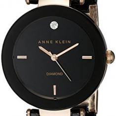 Anne Klein Women's AK 1018RGBK Diamond | 100% original, import SUA, 10 zile lucratoare af22508 - Ceas dama Anne Klein, Casual, Quartz, Analog