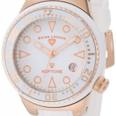 Swiss Legend Women's 11044D-RG-02-WHT Neptune White   100% original, import SUA, 10 zile lucratoare af22508 - Ceas dama Swiss Legend, Casual, Quartz, Analog