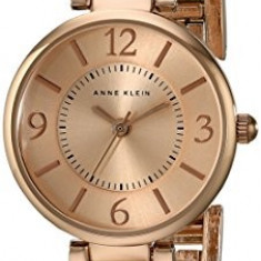 Anne Klein Women's AK 1870RGRG Rose | 100% original, import SUA, 10 zile lucratoare af22508 - Ceas dama Anne Klein, Analog