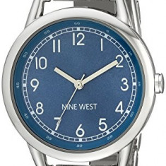 Nine West Women's NW 1691BLSB Easy | 100% original, import SUA, 10 zile lucratoare af22508 - Ceas dama Nine West, Casual, Quartz, Analog