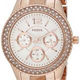 Fossil Women's ES3721 Stella Multifunction Rose | 100% original, import SUA, 10 zile lucratoare af22508 - Ceas dama Fossil, Analog