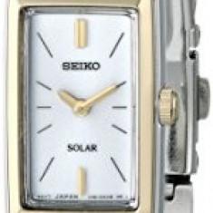 Seiko Women's SUP028 Stainless Steel Solar | 100% original, import SUA, 10 zile lucratoare af22508 - Ceas dama Seiko, Analog