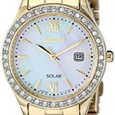 Seiko Women's SUT076 Gold-Tone Stainless Steel | 100% original, import SUA, 10 zile lucratoare af22508 - Ceas dama Seiko, Analog