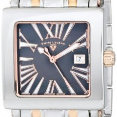 Swiss Legend Women's 20024-SR-01MOP Colosso Black | 100% original, import SUA, 10 zile lucratoare af22508 - Ceas dama Swiss Legend, Analog