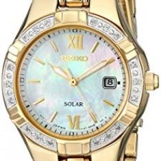 Seiko Women's SUT070 Dress-Solar Classic Watch | 100% original, import SUA, 10 zile lucratoare af22508 - Ceas dama Seiko, Analog