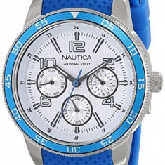 Nautica Women's N15636M NCT Blue Perforated | 100% original, import SUA, 10 zile lucratoare af22508 - Ceas dama Nautica, Casual, Analog