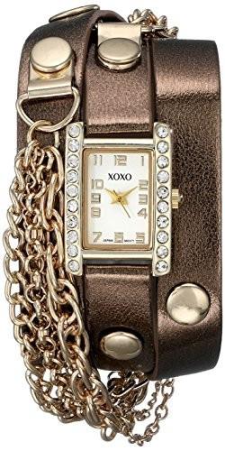 XOXO Women's XO5630 Gold-Tone Watch with | 100% original, import SUA, 10 zile lucratoare af22508 foto mare