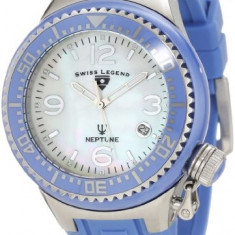 Swiss Legend Women's 11844-BLWSA Neptune White   100% original, import SUA, 10 zile lucratoare af22508 - Ceas dama Swiss Legend, Casual, Quartz, Analog