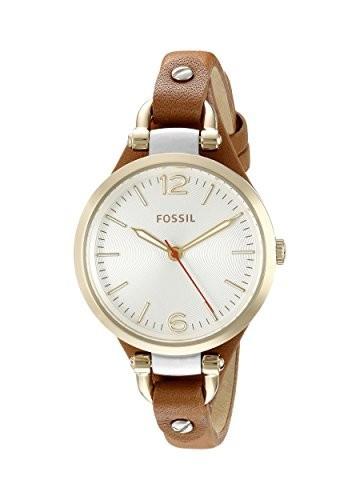 Fossil Women's ES3565 Georgia Gold-Tone Stainless | 100% original, import SUA, 10 zile lucratoare af22508 foto mare