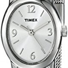 Timex Women's T2N743 Elevated Classics Dress | 100% original, import SUA, 10 zile lucratoare af22508 - Ceas dama Timex, Elegant, Quartz, Analog