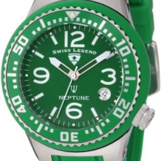 Swiss Legend Women's 11044P-08 Neptune Green | 100% original, import SUA, 10 zile lucratoare af22508 - Ceas dama Swiss Legend, Analog