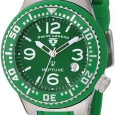 Swiss Legend Women's 11044P-08 Neptune Green | 100% original, import SUA, 10 zile lucratoare af22508 - Ceas dama Swiss Legend, Casual, Quartz, Analog