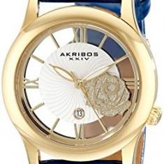 Akribos XXIV Women's AK837BU Analog Display | 100% original, import SUA, 10 zile lucratoare af22508 - Ceas dama Akribos, Casual, Quartz