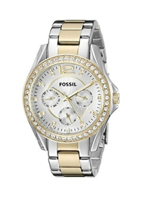 Fossil Women's ES3204 Riley Silver and | 100% original, import SUA, 10 zile lucratoare af22508 foto