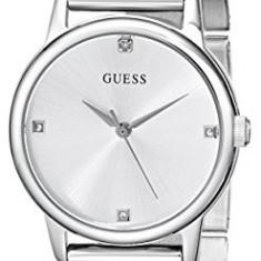 GUESS Women's U0532L1 Silver-Tone Mesh Bracelet | 100% original, import SUA, 10 zile lucratoare af22508 - Ceas dama Guess, Analog