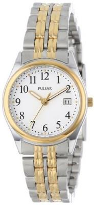 Pulsar Women's PXT588 Dress Two-Tone Stainless | 100% original, import SUA, 10 zile lucratoare af22508 foto