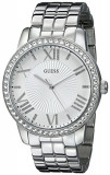 GUESS Women's U0329L1 Crystal-Accented Stainless Steel | 100% original, import SUA, 10 zile lucratoare af22508, Casual, Quartz, Analog