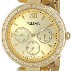 Pulsar Women's PP6106 Analog Display Japanese | 100% original, import SUA, 10 zile lucratoare af22508 - Ceas dama Pulsar, Sport