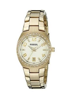 Fossil Women's AM4557 Serena Crystal-Accented Gold-Tone | 100% original, import SUA, 10 zile lucratoare af22508 foto