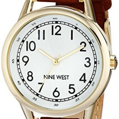 Nine West Women's NW 1698WTBN Easy | 100% original, import SUA, 10 zile lucratoare af22508 - Ceas dama Nine West, Analog