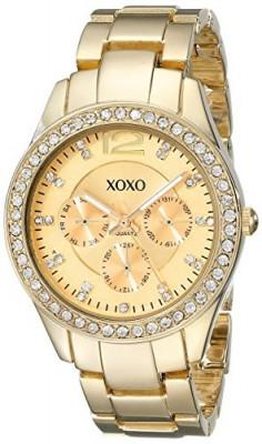 XOXO Women's XO5475 Rhinestone-Accented Gold-Tone Bracelet   100% original, import SUA, 10 zile lucratoare af22508 foto