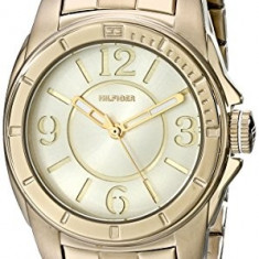 Tommy Hilfiger Women's 1781139 Gold-Plated Watch | 100% original, import SUA, 10 zile lucratoare af22508 - Ceas dama Tommy Hilfiger, Casual, Analog