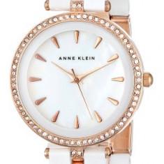 Anne Klein Women's AK 1444WTRG Swarovski | 100% original, import SUA, 10 zile lucratoare af22508 - Ceas dama Anne Klein, Casual, Analog
