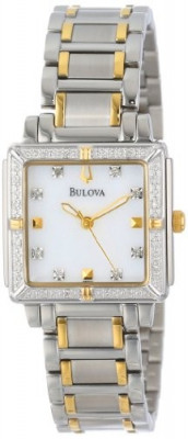 Bulova Women's 98R112 Diamond Accented Two-Tone | 100% original, import SUA, 10 zile lucratoare af22508 foto