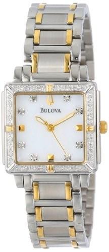 Bulova Women's 98R112 Diamond Accented Two-Tone | 100% original, import SUA, 10 zile lucratoare af22508 foto mare