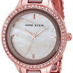 Anne Klein Women's AK 1418RGTP Swarovski | 100% original, import SUA, 10 zile lucratoare af22508 - Ceas dama Anne Klein, Analog