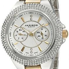 Akribos XXIV Women's AK789TTG Analog Display | 100% original, import SUA, 10 zile lucratoare af22508, Elegant, Quartz
