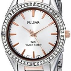 Pulsar Women's PH8129X Analog Display Analog   100% original, import SUA, 10 zile lucratoare af22508 - Ceas dama Pulsar, Elegant, Quartz