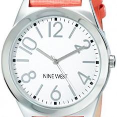 Nine West Women's NW 1661WTCO Silver-Tone | 100% original, import SUA, 10 zile lucratoare af22508 - Ceas dama Nine West, Casual, Quartz, Analog
