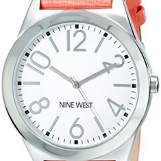 Nine West Women's NW 1661WTCO Silver-Tone | 100% original, import SUA, 10 zile lucratoare af22508 - Ceas dama Nine West, Analog