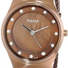 Pulsar Women's PH8055 Analog Display Japanese | 100% original, import SUA, 10 zile lucratoare af22508 - Ceas dama Pulsar, Elegant, Quartz