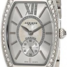 Akribos XXIV Women's AKR470SS Diamond Swiss | 100% original, import SUA, 10 zile lucratoare af22508 - Ceas dama Akribos, Casual, Quartz, Analog