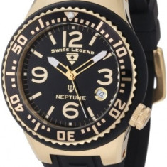 Swiss Legend Women's 11044P-YG-01 Neptune Black   100% original, import SUA, 10 zile lucratoare af22508 - Ceas dama Swiss Legend, Casual, Quartz, Analog
