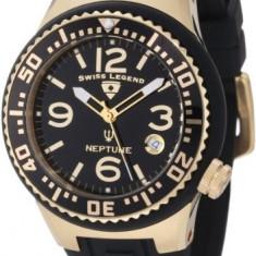 Swiss Legend Women's 11044P-YG-01 Neptune Black | 100% original, import SUA, 10 zile lucratoare af22508 - Ceas dama Swiss Legend, Casual, Quartz, Analog