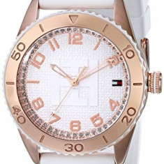 Tommy Hilfiger Women's 1781121 Rose Gold-Plated   100% original, import SUA, 10 zile lucratoare af22508 - Ceas dama Tommy Hilfiger, Casual, Silicon, Analog