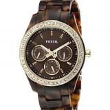 Fossil Women's ES2795 Stella Tortoiseshell-Tone Resin | 100% original, import SUA, 10 zile lucratoare af22508 - Ceas dama Fossil, Casual, Quartz, Analog