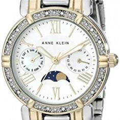 Anne Klein Women's AK 1965SVTT Swarovski   100% original, import SUA, 10 zile lucratoare af22508 - Ceas dama Anne Klein, Elegant, Quartz, Analog